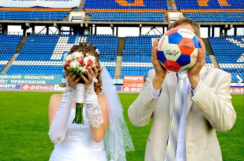 Поздравление на свадьбу футболисту 98